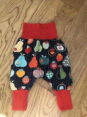 Baby Girls Unusual Fruit Themed Harem High Waist Leggings. Age 3-6 Months 💕