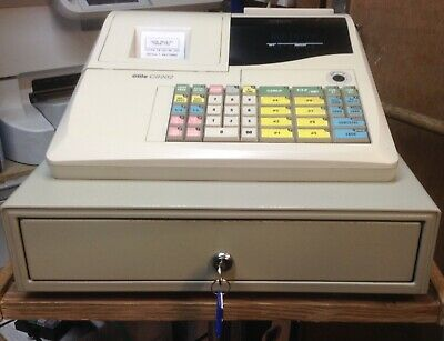 Elite CR202 Electronic Cash Register Easy To Use And Setup With 10 X Till Rolls