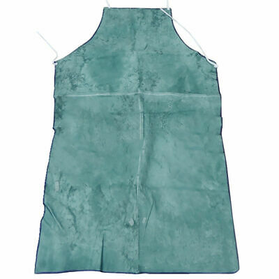 CN_ 2Pcs Cowhide Leather Flame-Resistant Leather Welder Welding Apron Workwear