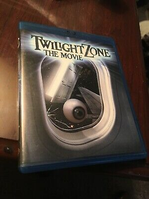 Twilight Zone: The Movie Blu-ray Disc - RARE AND OOP! GREAT CONDITION 1983