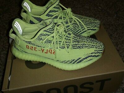 ebd76f5d9 Adidas Yeezy Boost 350 v2 Semi Frozen Yellow Size 9.5 Kanye West