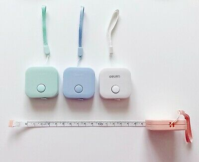 Pretty pastel candy colour cute kitsch retractable tape measures