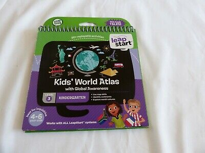 Leap Start Kids' World Atlas Level 3 Ages 4-6