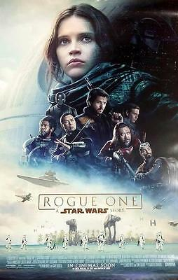 Rogue One A Star Wars Story Original 27X40 Ds Movie Poster Final Version New!