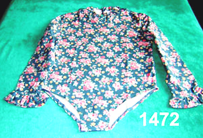 TWO Retro Girls tops or Body suits 2 yr-14 yrs Plain or Print see discription