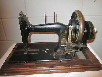 Antique L.O. Dietrich Sewing machine for display or restoration