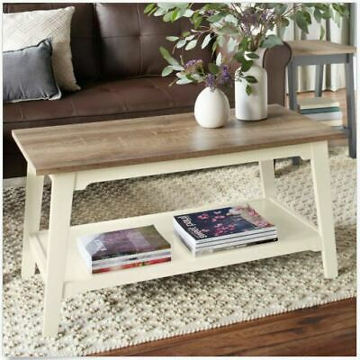 Rustic Coffee Table Storages Wood Chest Trunk Vintage Box Bench