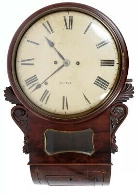 Bath Quality Regency Twin Chain Fusee Convex Drop Dial Thomson And Son