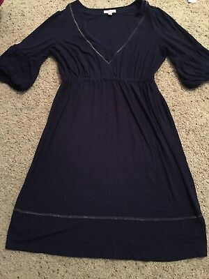 6b6895861dd 41 HAWTHORN WOMENS Navy Blue Wrap Dress Sleeveless Stitch Fix New ...