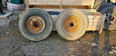 Massey Industrial Front Wheels 9.00 X 16