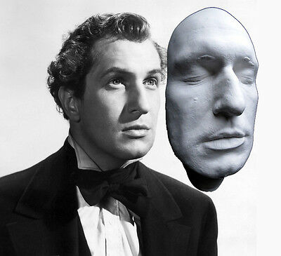 Vincent Price Rare Early Life Mask Cast from the 1940's: Dead Heat, Dr. Phibes