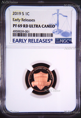 2019 S Proof LINCOLN CENT Shield Penny NGC PF69 ULTRA CAMEO RD ER