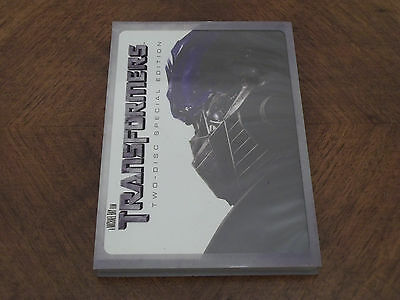 Transformers Dvd Video 2007 2-Disc Special Edition Region 2 ~ Good Condition