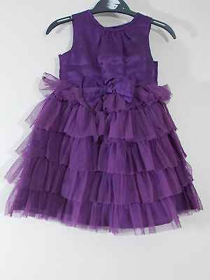 Baby Girls Purple Dress 9-12 Month By M&CO Baby