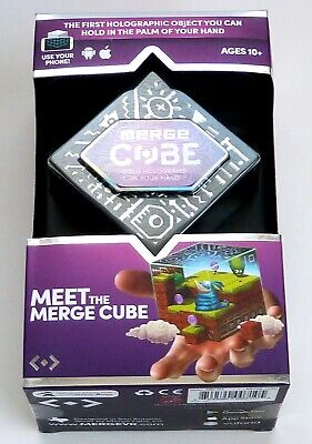 MERGE Cube -  Holograms in the Palm of your Hands - Works with your Smartphone