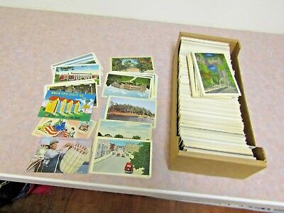 1000+ Older Vintage Postcards That have never Been Used Lots of Buildings, Parks