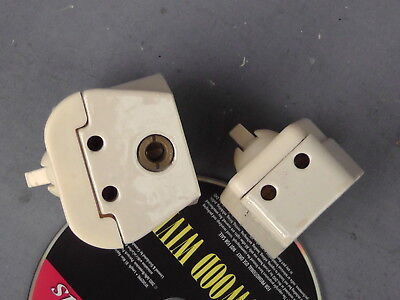 Two Porcelain Electrical Sockets