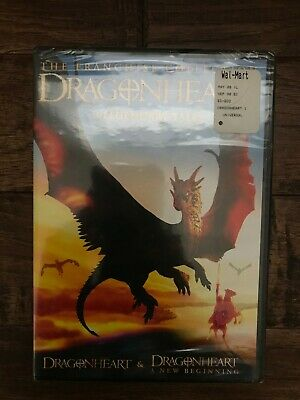 """DRAGONHEART"" (Fantasy) DVD Movie Set, (The Franchise Collection), NEW! SEALED!"