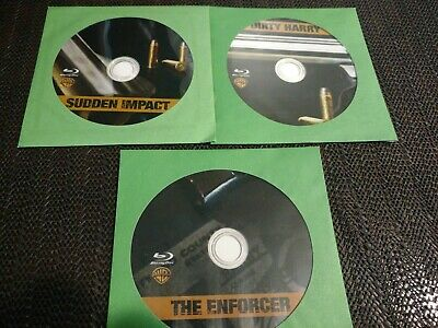 Lot Of 3  Clint Eastwood Blu-ray Discs In Paper Sleeves