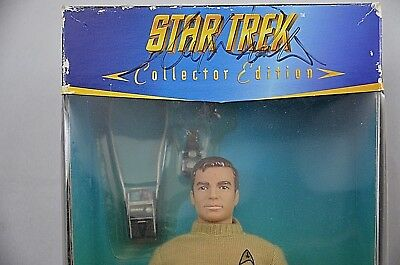 William Shatner Captain Kirk Signed Star Trek action figure 1996 Playmates