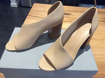BNWT Country Road Trenery Ladies CASSIE HEEL shoes in Nougat size 38
