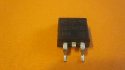 B20100G Encapsulation:TO-220, 20 Amp Schottky Barrier Rectifier 20 to 100 Volts