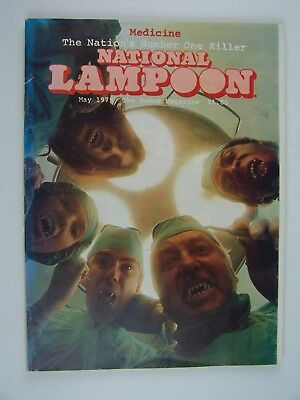 National Lampoon Magazine May 1975 Medicine - The Nations Number One Killer