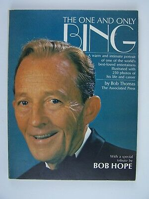 The One And Only Bing Crosby Paperback by Bob Thomas