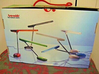 Artemide Desk Table E-Light Micro Light By Ernesto Gismondi Made In Italy In Box