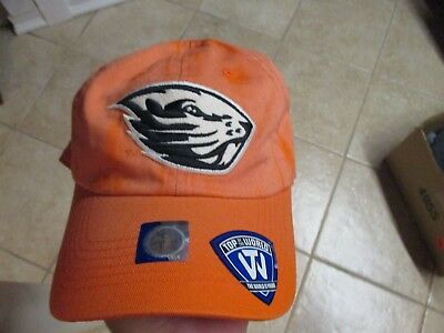 best cheap ff7da 2521d Oregon State Beavers Top Of The World Slouch Fit (Adjustable) Hat Nwt  25  Orange