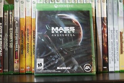 Mass Effect: Andromeda (Microsoft Xbox One, 2017) NEW SEALED