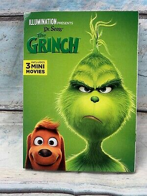 The Grinch (DVD) Includes 3 Mini Movies