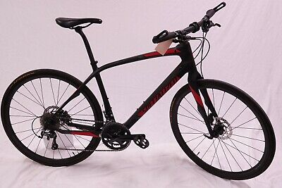 1c7dbc2ea62 Specialized Medium Sirrus Comp Carbon Hybrid City 700c Road Bike w/Bar ends