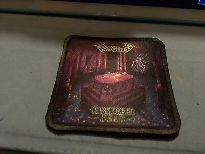 """Black Sabbath Master of Reality Sublimated Patch 3""""x3"""" Album Cover Rock Metal"""