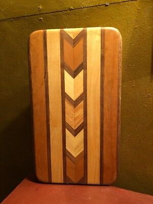Handcrafted Cutting Board with Inlay
