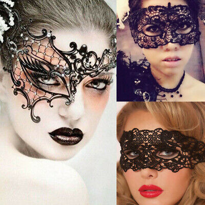 b3f4e0ce89da SEXY LACE EYE Mask Venetian Masquerade Ball Halloween Party Fancy ...