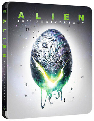 Alien (4K UHD + Blu-ray Steelbook) 40TH ANNIVERSARY EDITION - NEW / SEALED