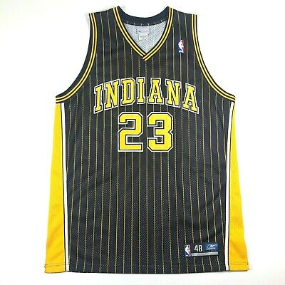 e00565ddfdbd Reebok Ron Artest Indiana Pacers  23 Authentic Team Issued NBA Jersey Size  48