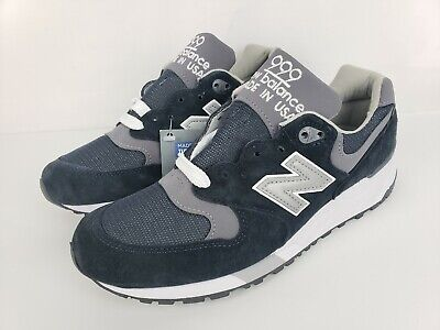 check out d798e b4050 NEW BALANCE 999 Running Shoes Navy Grey White Made in USA Mens Size 6  M999CBL