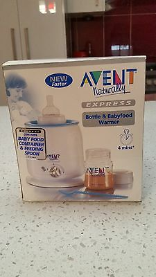 AVENT EXPRESS Bottle & Babyfood Warmer - NEW