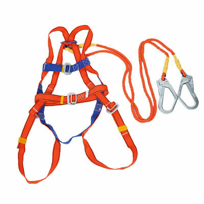 CN_ Polyamide Alloy Stainless Steel Full Body Safety Work Harness Fall Arrest