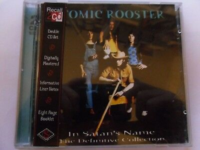 "Atomic Rooster ""in Satan's Name The Definitive Collection"" 2 Cd Set 1997"