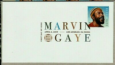 Marvin Gaye 2019 Us #5371 Music Legend Forever Stamp Vf Dcp First Day Cover Nip