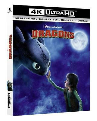 How to train your Dragon (4K UHD + 3D + 2D Blu-ray) BRAND NEW