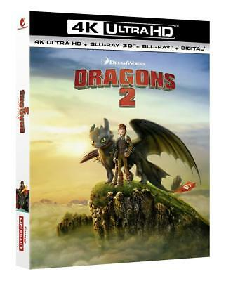 How to train your Dragon 2 (4K UHD + 3D + 2D Blu-ray) BRAND NEW