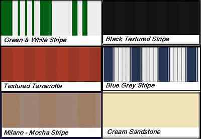 Patio Awning Canvas & Valance Sun Shade Canopy Replacement Material CANVAS ONLY