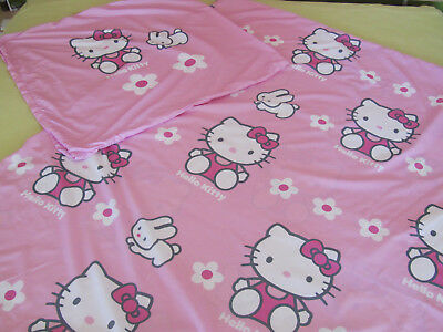 Hello Kitty Bettwäsche 2 Tlg Hase80x80cm130x200m Eur 300