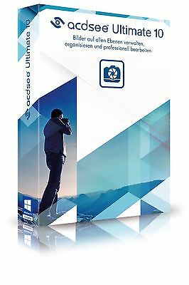 ACDSee Ultimate 10 ESD / Download deutsch ACDSee Systems  EAN 4025461004646