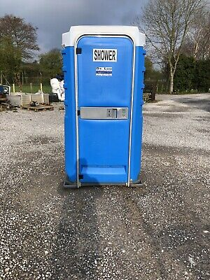 portable toilet shower block