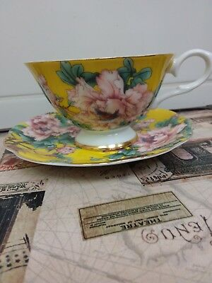 Collectable Cup And Saucer By Sixth Kiln Royal Collection